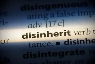 Disinheriting a family member Alperin Law