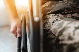 A Disabled Veteran Using a Wheelchair Alperin Law