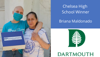 Chelsea Spada Law Group High School Scholarship Fund Winner