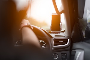 Distracted Driving with Cell Phone Can Lead to Car Accidents in MA