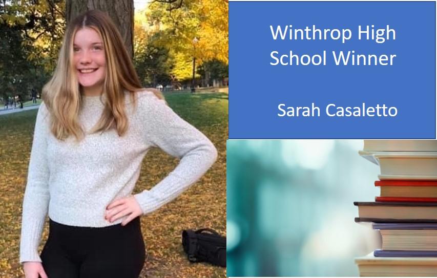 Winthrop Spada Law Group High School Scholarship Fund Winner