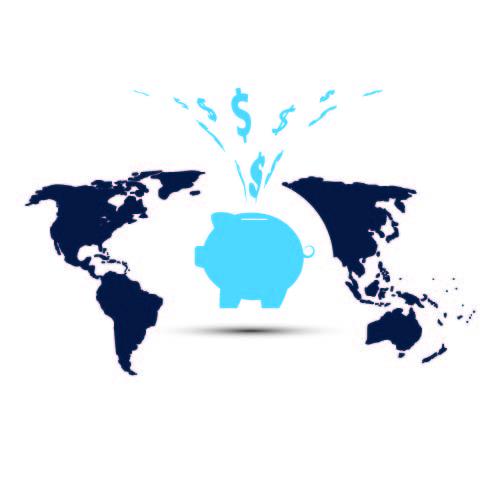 Piggy Bank World Picture