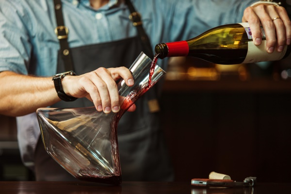 Decanting wine is similar to decanting an irrevocable trust