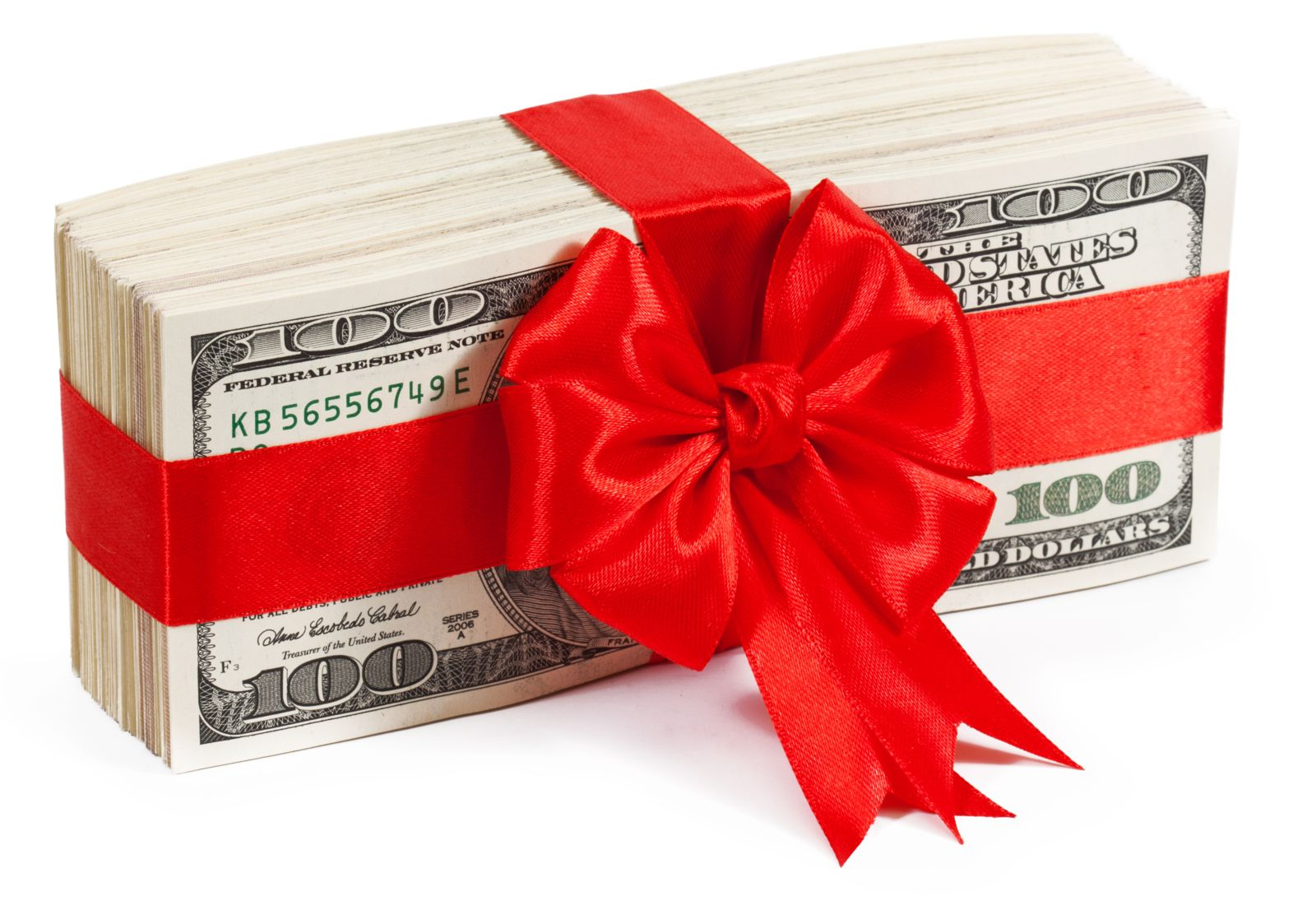Gift of Cash Picture