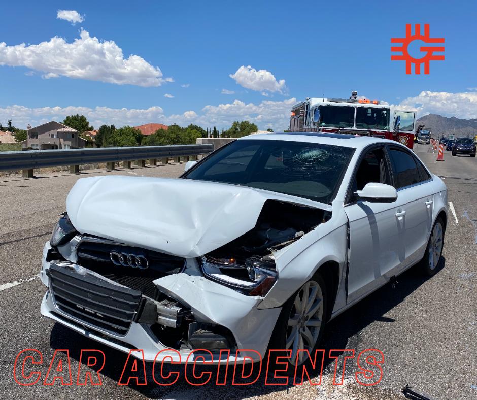 Albuquerque car accident (Tramway and Menual)