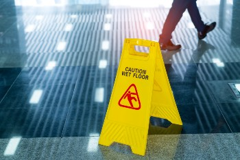 Protect yourself after a slip and fall. Weir & Kestner Personal Injury Lawyers