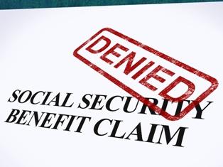 Social Security Benefit Claim Denial