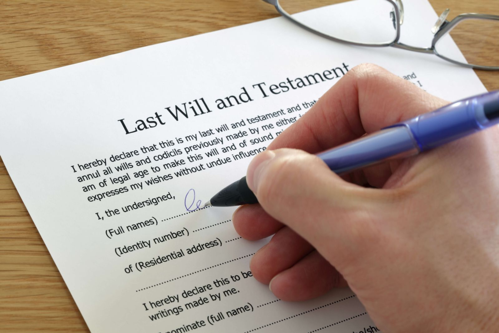 What Happens To My Assets If I Pass Away Without A Will