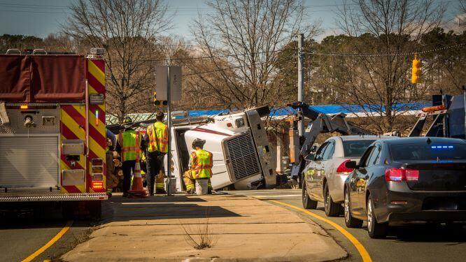 Truck Accident Case Defendants