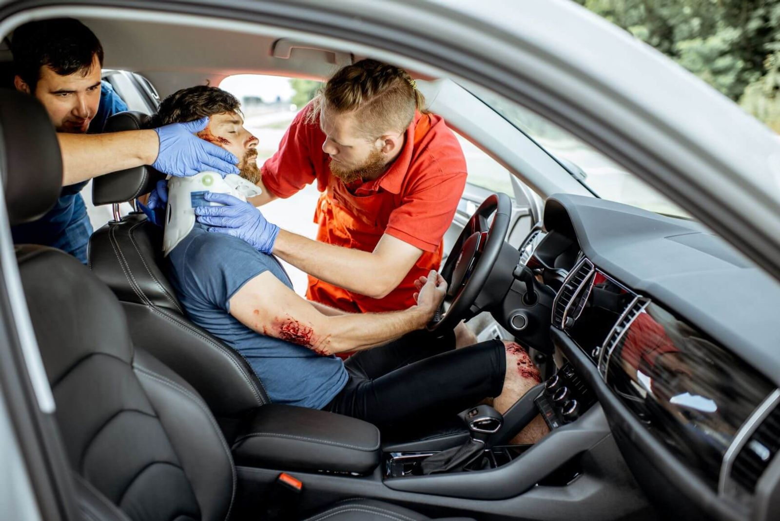 Can a Car Accident Exacerbate an Old Injury