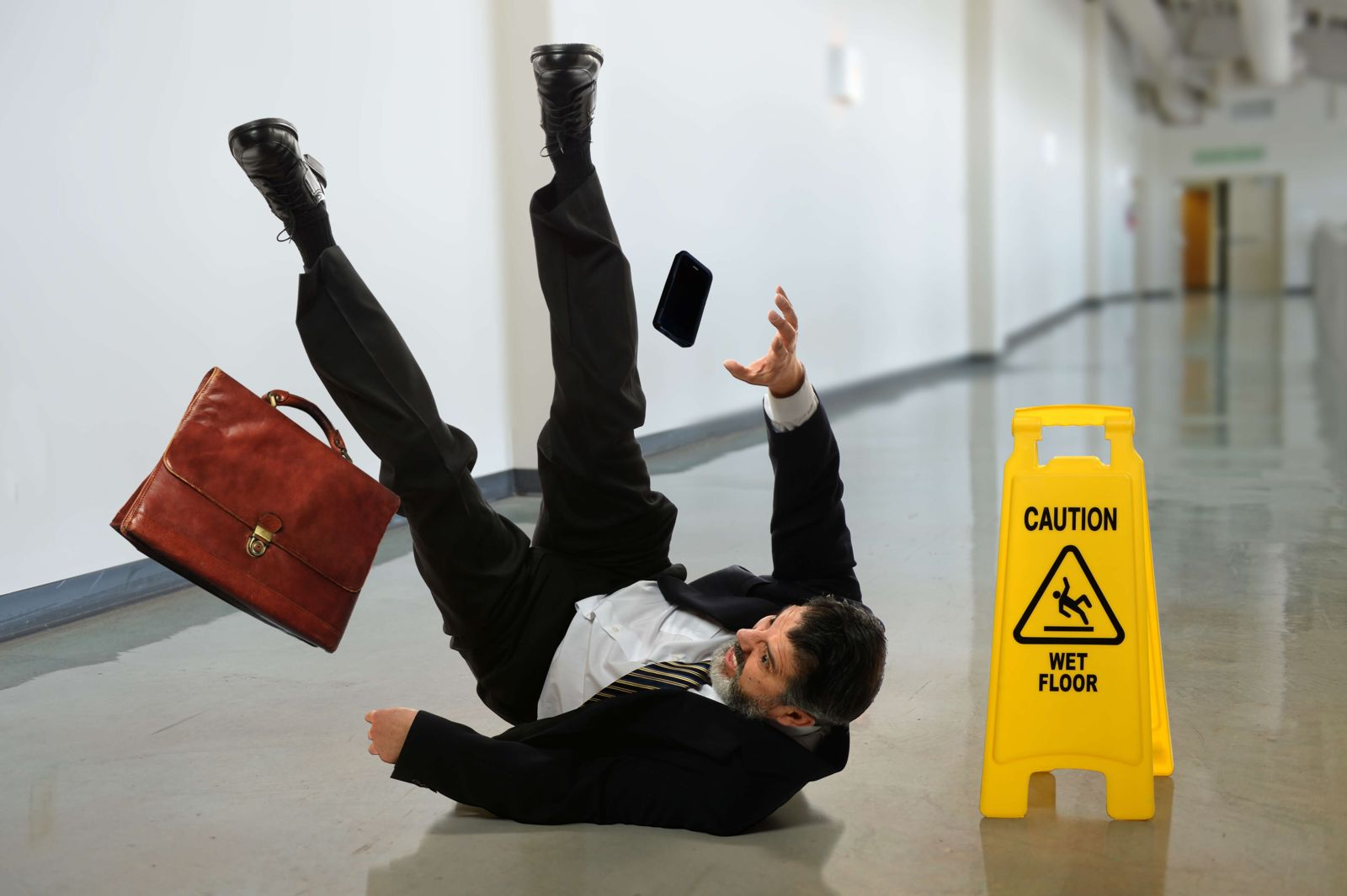 "Does a ""Wet Floor"" Sign Prevent Me from Pursuing a Slip and Fall Claim?"