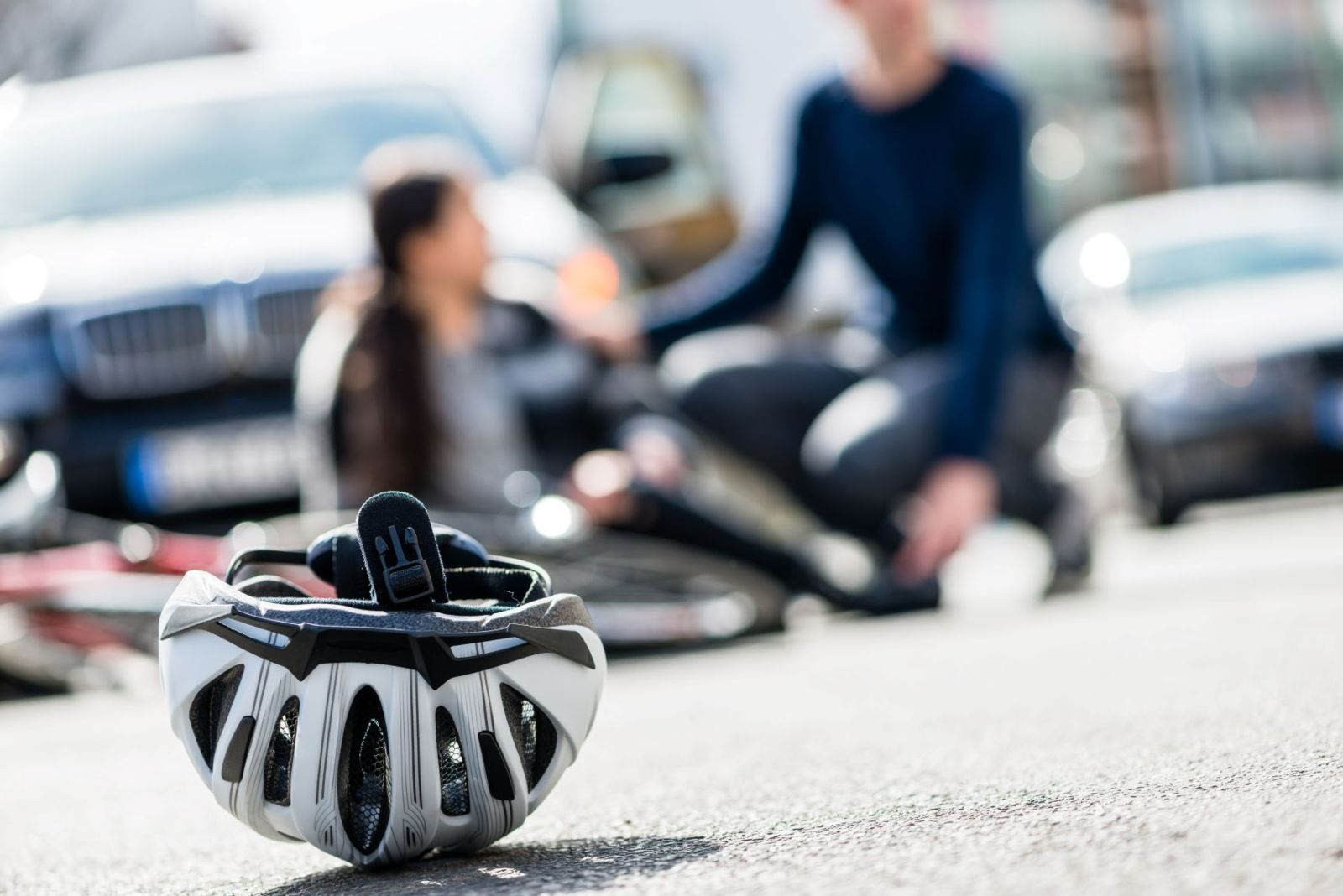 What to Do After a Car Hits You While Riding Your Bicycle