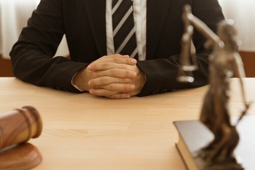 Divorce attorney being asked questions in an initial consultation