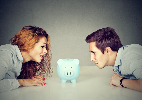 Financial independence ruined by divorce