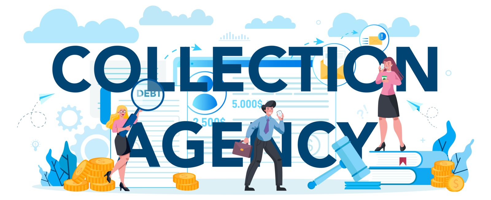 make a collection agency pay for your bankruptcy