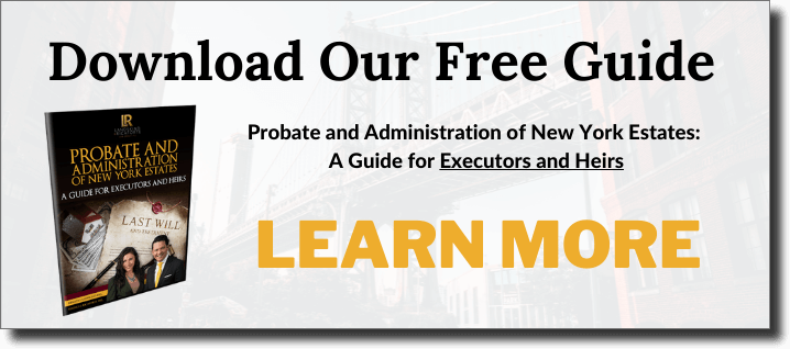 Free guide to understanding the probate process in New York