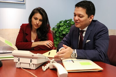 Our probate and estate administration attorneys Renata and Terence