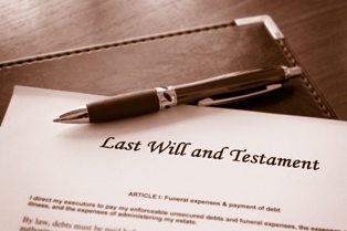 Last Will and Testament in a Probate Case