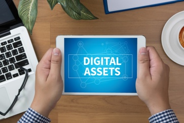 Digital Assets on a Tablet