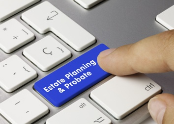 Estate Planning and Probate Keyboard Button