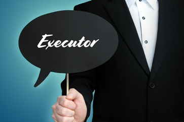 Executor of a Will Sign