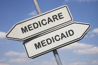 Medicaid and Medicare Road Signs