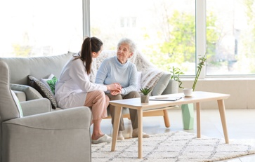 Nursing Home Resident at a Nursing Home