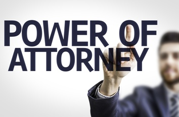 Power of Attorney Agent Sign