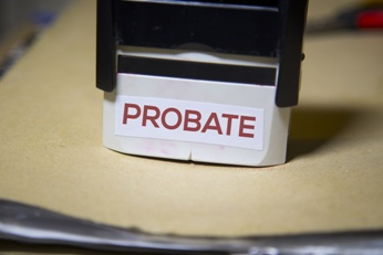 Probate Stamp and File Folder