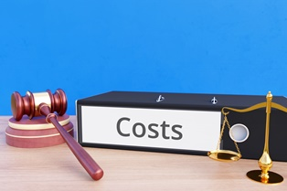 The cost of hiring an attorney