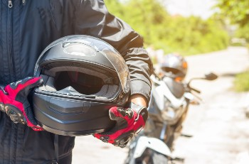 Not wearing a helmet limit your ability to collect damages.