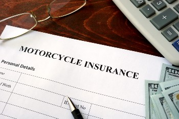 Motorcycle insurance can cover your accident losses.