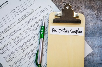 Pre-exisiting conditions can complicate a car accident claim.