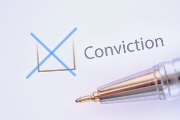 Conviction Checkbox on an Application