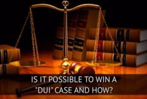 Is it possible win DUI case in Ohio