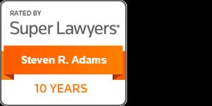 super lawyers steve adams