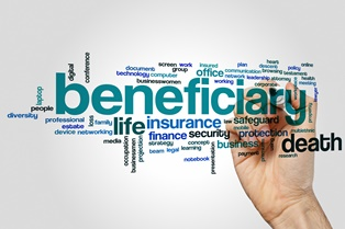 When the ex-spouse is a beneficiary