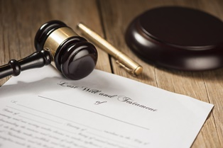 Conflicting clauses in a will