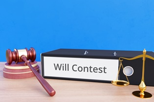 How the courts handle a contested will
