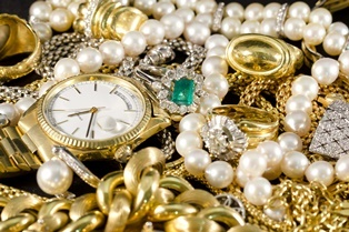 Jewelry during a succession