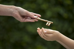 Protecting an inheritance of a minor child