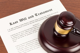 A no contest clause in a will