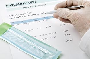 Determining paternity