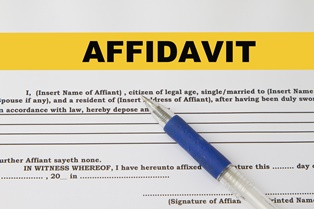 Transferring a car by affidavit after death of a loved one