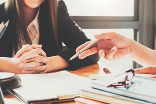 Meeting with a probate lawyer