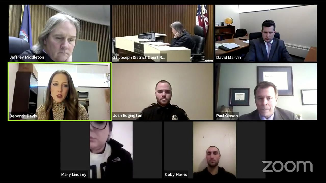 Assault Defendant Caught on Zoom Hearing at Alleged Victim's House