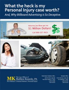 What the Heck is my Personal Injury Case Worth?