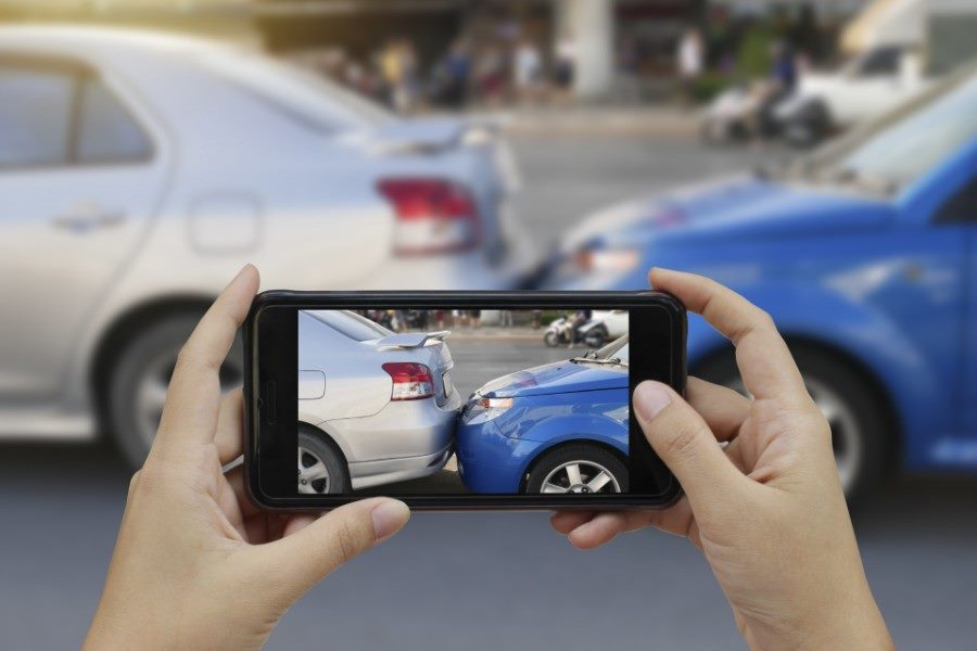Taking Photos of Car Accident Matthew Konecky Personal Injury Lawyer