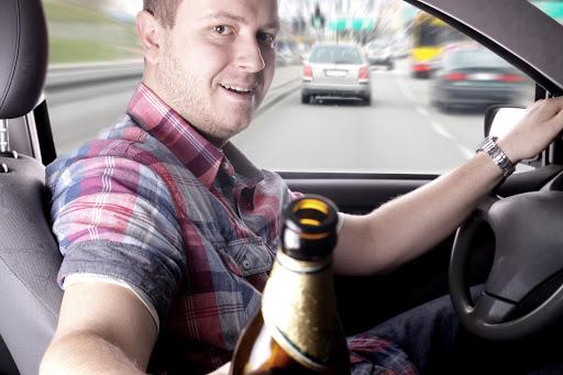 Man Driving Drunk