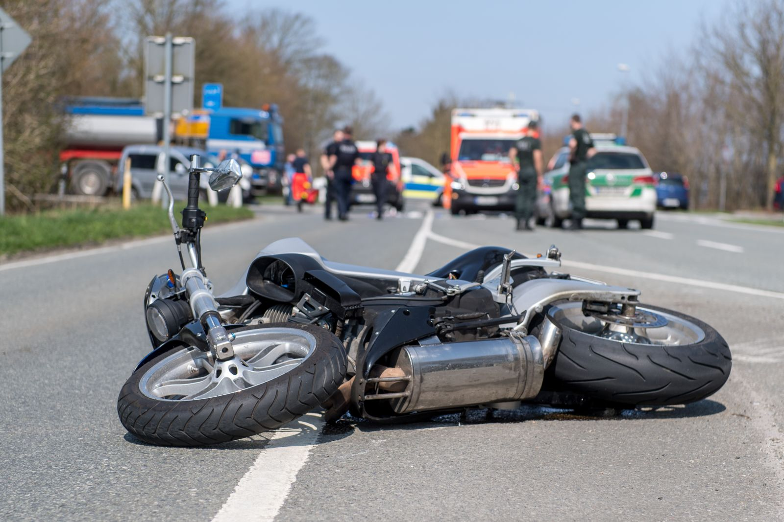 The Pennsylvania motorcycle accident lawyer